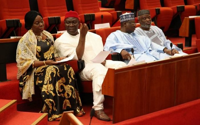 Fire scare: Senate suddenly adjourns sitting