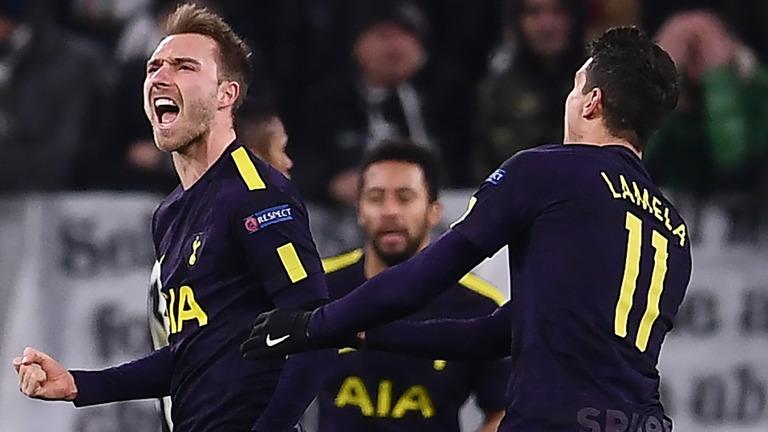 Tottenham battle back to earn 2-2 draw at Juventus