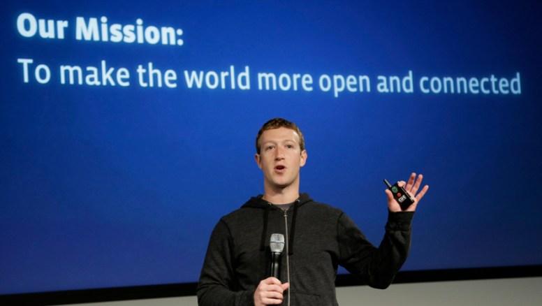 Zuckerberg admits Facebook errors