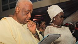 PHOTOS OF THE DAY: Faces at Evening of Tributes for Pa Christopher Abebe