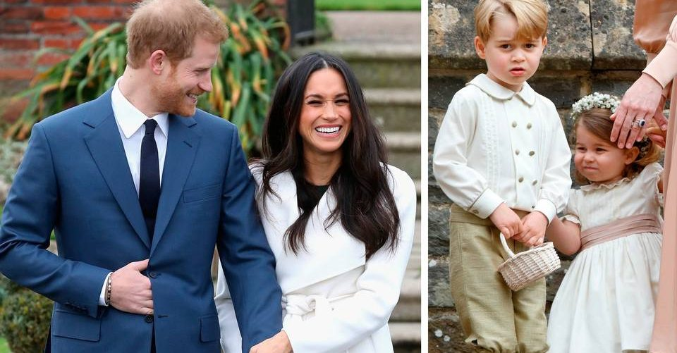Princess Charlotte and Prince George will feature in the Royal Wedding