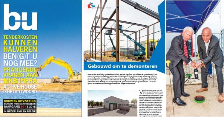 Vakblad Bouw en Uitvoering besteed ruime aandacht aan Nexteria
