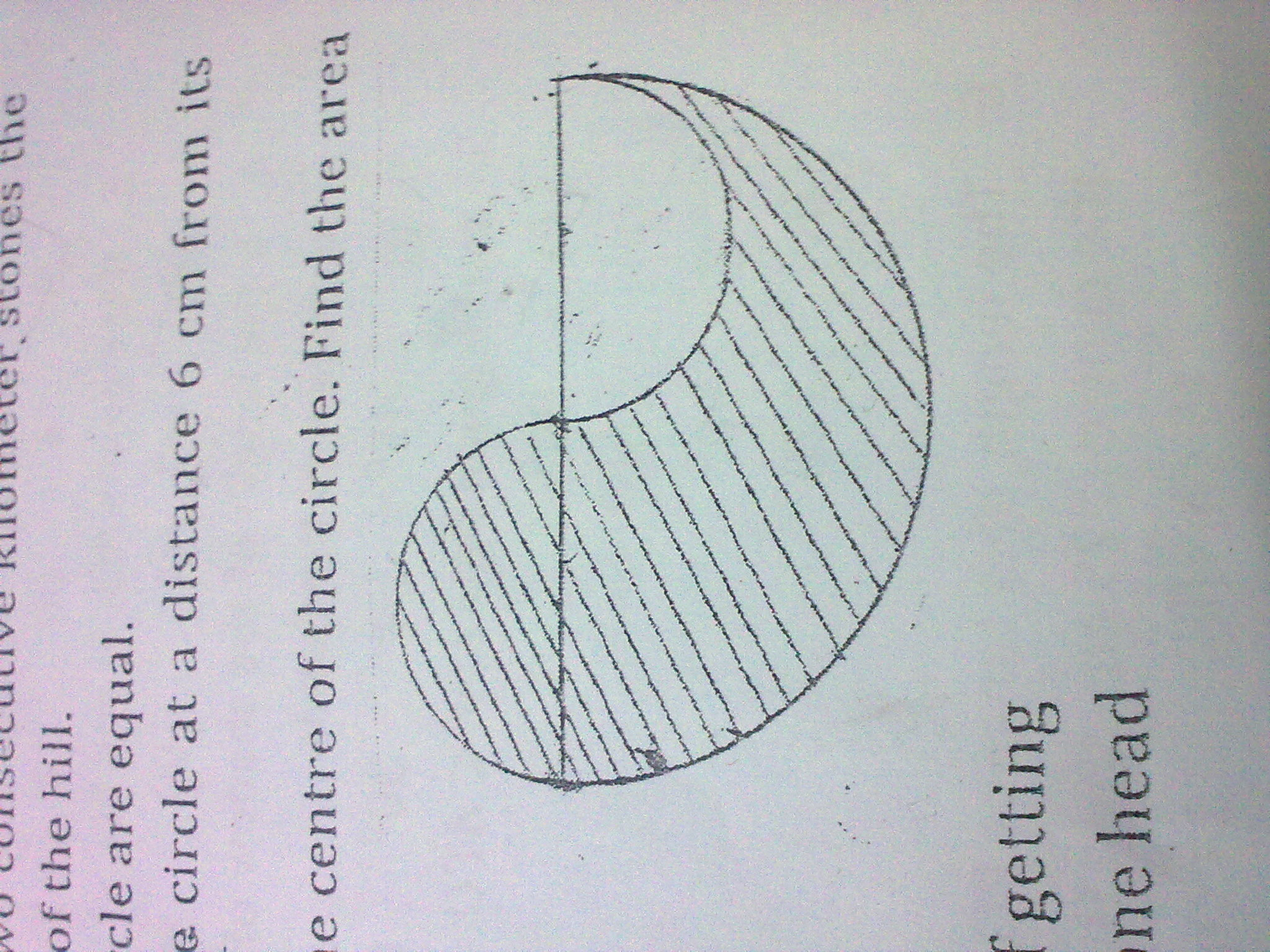 Perimeter And Area Areas Related To Circles Maths