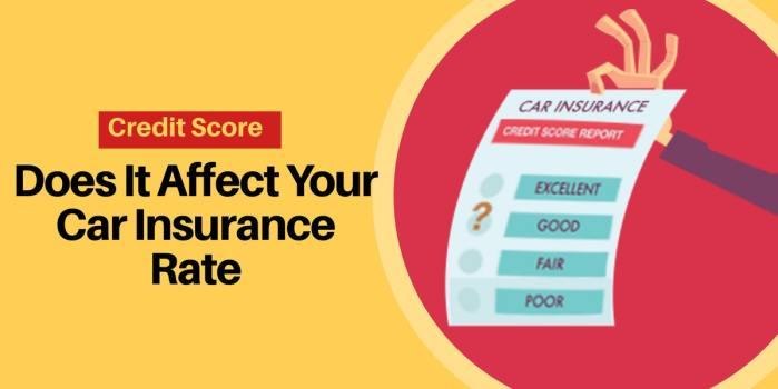 Credit Score Affect Car Insurance Rate