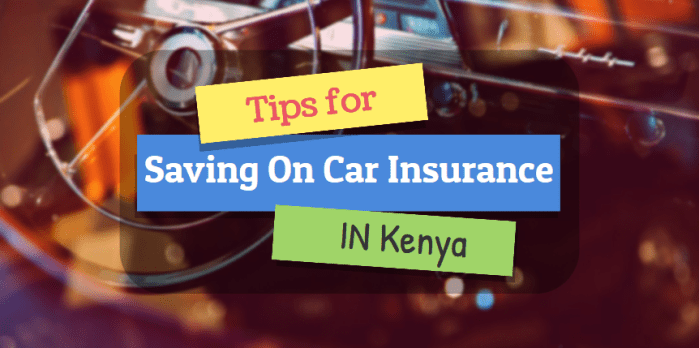 tips for saving on car insurance kenya