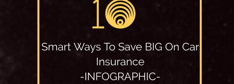 10 Smart Ways To Save On Car Insurance – An Infographic