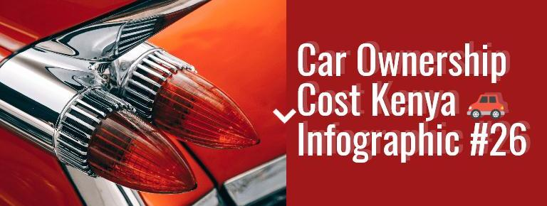 Car Ownership Cost For Popular Cars In Kenya – Series 26 (Infographic)