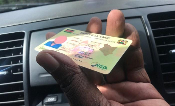 Kenya New Driving License