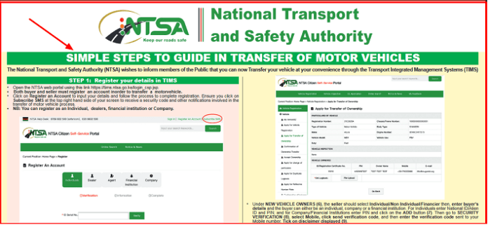what is ntsa tims