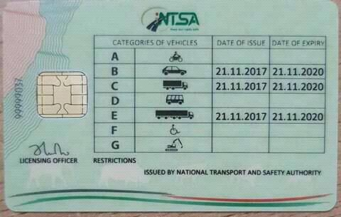 Online Checking of Driving Licence Status