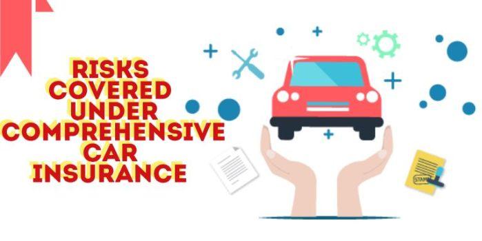 Risks Covered Under Comprehensive Car Insurance