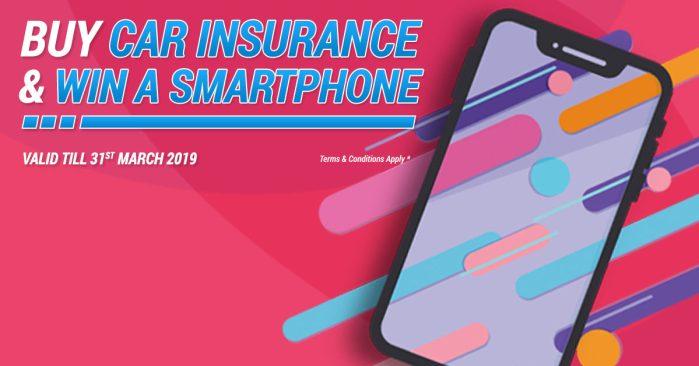 Car Insurance Offer Kenya - Win a Smart phone