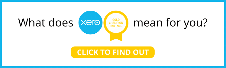 What does Xero gold champion mean for you sml