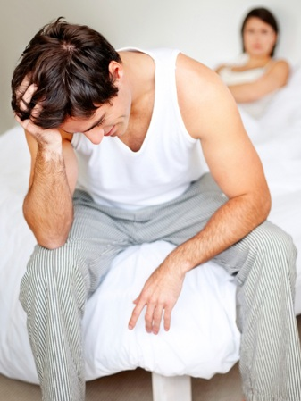 Cause and solution for erectile dysfunction in young men