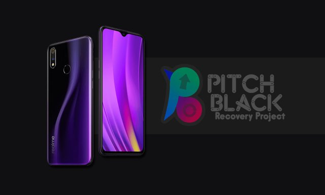 Realme pitch black recovery
