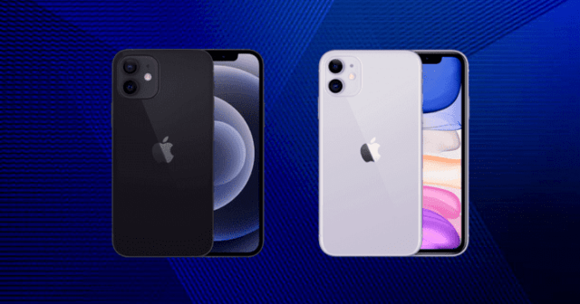 iPhone 11 and 12