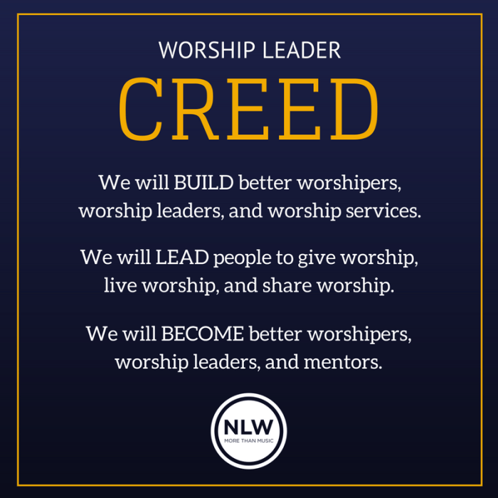 Worship Creed