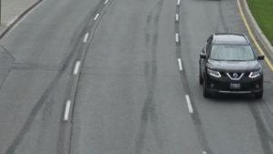 three lane highway