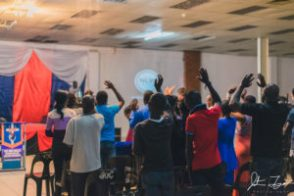 Worshiping in Livingstone