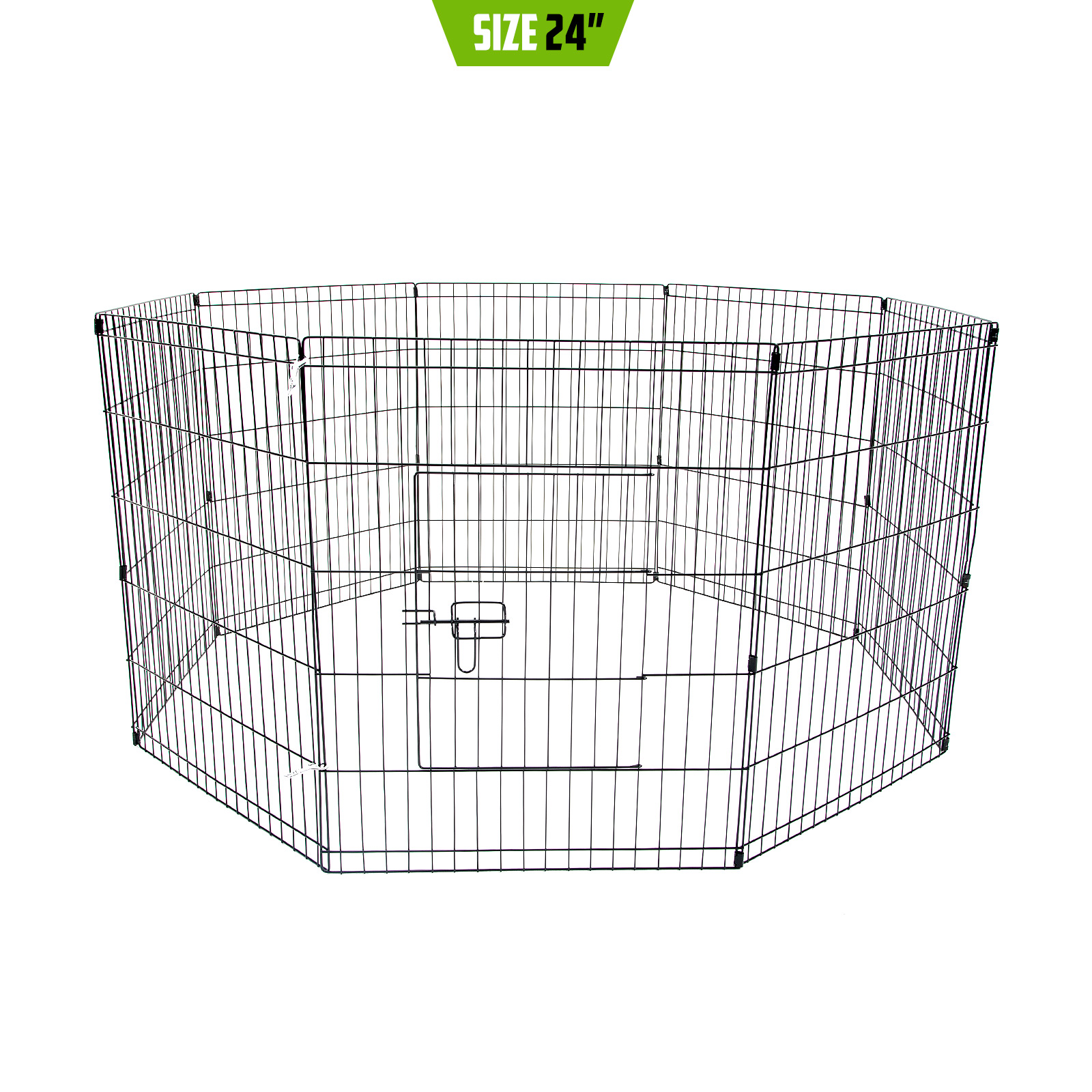 8 Panel Pet Playpen Fold Exercise Cage Fence Enclosure Dog