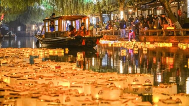 New Year eve celebration China