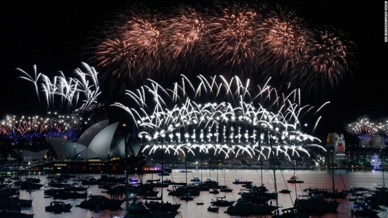 New Year eve celebration sydney