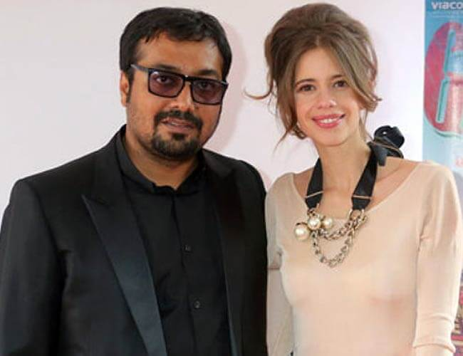 Anurag Kashyap and Kalki kochelin