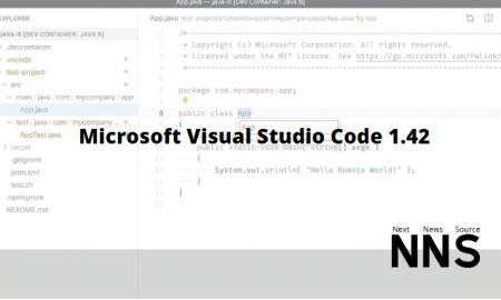 Microsoft Visual Studio Code 1.42