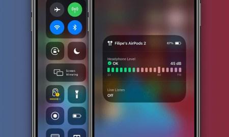 iOS 14 Volume adjust