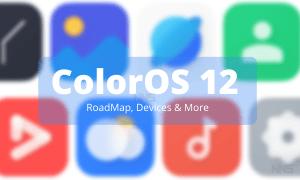 ColorOS 12 RoadMap