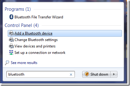 How to setup bluetooth device pairing with windows 7 next of windows.