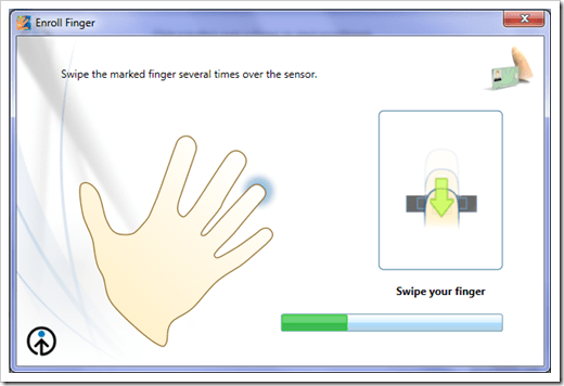 windows 7 biometric login