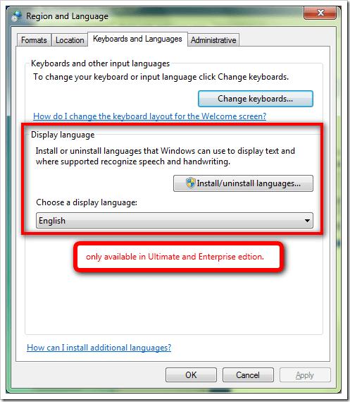 Windows login screen change language | Change the display language