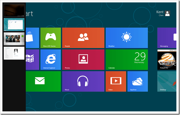 Windows 8 Switch List
