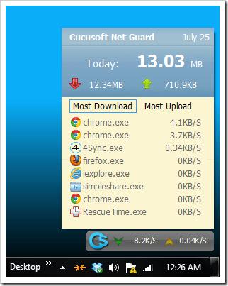 Cucusoft Net Guard - Screen #1