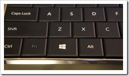 Windows 8 Wedge Mobile Keyboard