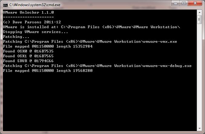 os x 10.8 mountain lion retail vmware image 7z