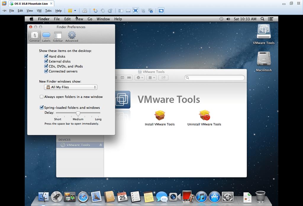 install mac on vmware workstation