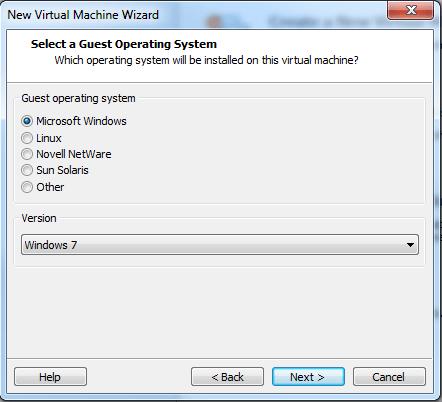 Windows 8 VMware Player set up #2