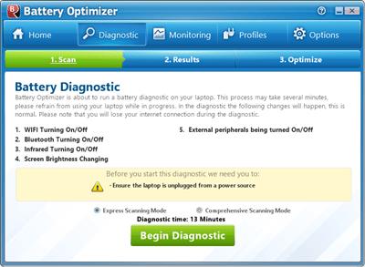 Battery Optimizer - diagnostic