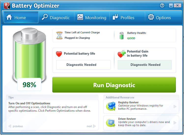 battery optimizer for pc
