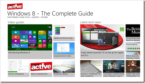 Windows 8 App - Windows 8 the complete guide
