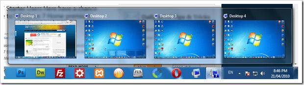 How to go multi-desktop