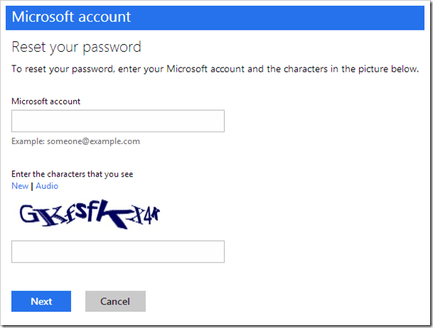 windows 8 reset pc without password