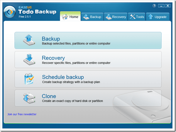 easeus recovery disk partition