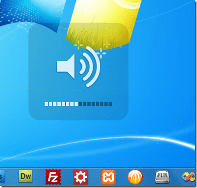 How To Add Mac Style Volume Control On-Screen Indicator in Windows 7