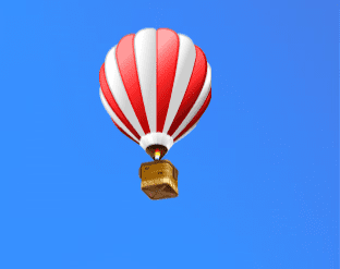 AnySend - Red Air Ballon