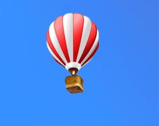 AnySend - Red Air Ballon