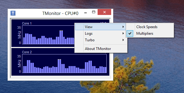 Tmonitor -  change View type