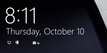 Windows 8.1 Lock Screen Without Birthday Reminder